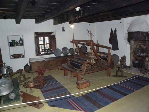 """Интериор в музея """"Никола Вапцаров"""""""