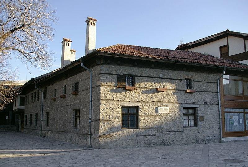 Родната къща на Никола Вапцаров в Банско