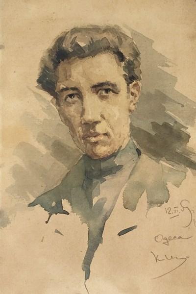 Автопортрет на Щъркелов